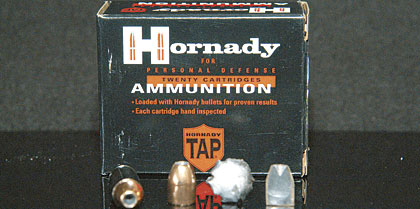 Personal-defense ammunition goes public.  Late in 2004 I began hearing rumors that Hornady was