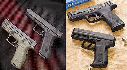 Polymer Police Pistols