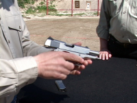 Thumbnail for the video 'Double-Checking A Cleared Handgun'