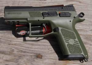 CZ-USA P07 pistol profile