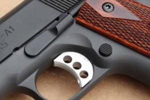 Springfield Range Officer trigger