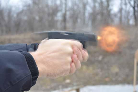 Glock Gen4 G26 firing
