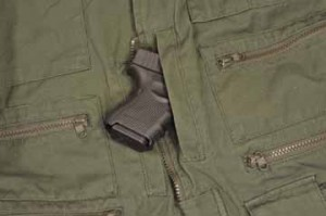 Glock G26 Gen 4 in pocket
