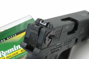 ISSC M22 rear sight and safety