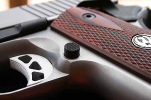 Ruger SR1911 trigger and magazine release