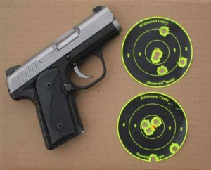 Kimber Solo Carry and targets