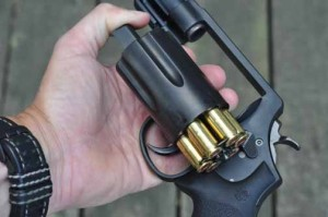 Smith & Wesson Governor loaded with moon clip