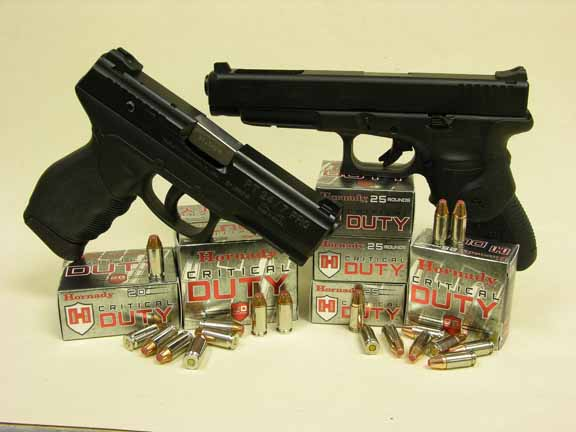 Hornady's new Critical Duty handgun ammunition is the only law-enforcement ammunition that