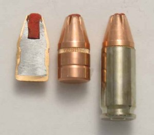 Critical Duty sectioned, bullet, loaded ammo