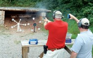 On the range or in dry-firing exercises, dial up the difficulty to learn how much sighting effort it really takes you to hit the target.