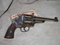 Smith & Wesson Triple Lock revolver