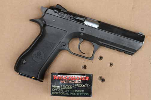 Baby Desert Eagle II and Winchester ammo