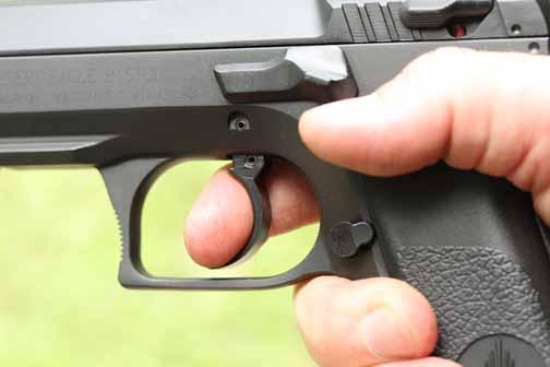 Baby Desert Eagle II trigger
