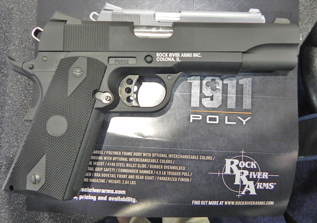 Steve Mayer of Rock River Arms introduces us to the Rock River Arms 1911 P, the all-new polymer