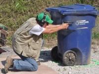 competitor shooting IDPA