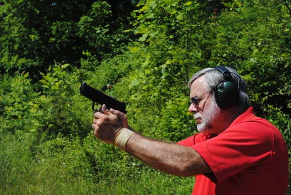 H&K's HK 45 LEM makes a great duty or home defense gun.