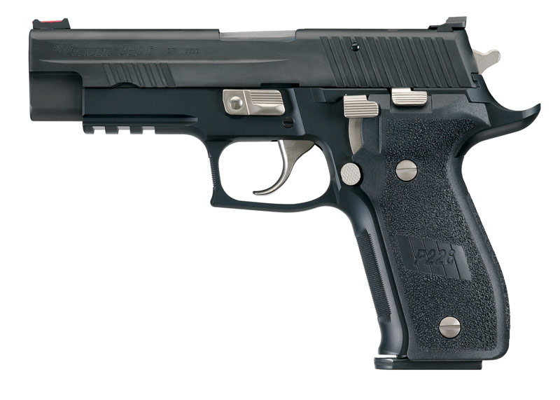 The world is awash with articles on customized 1911s, but  I want to talk about what you can do to customize a potential unlikely prospect, the SIG P226.