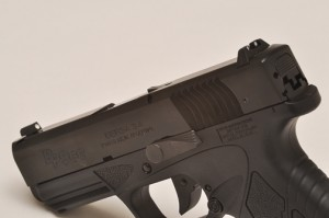 Bersa Thunder BP 9 CC controls