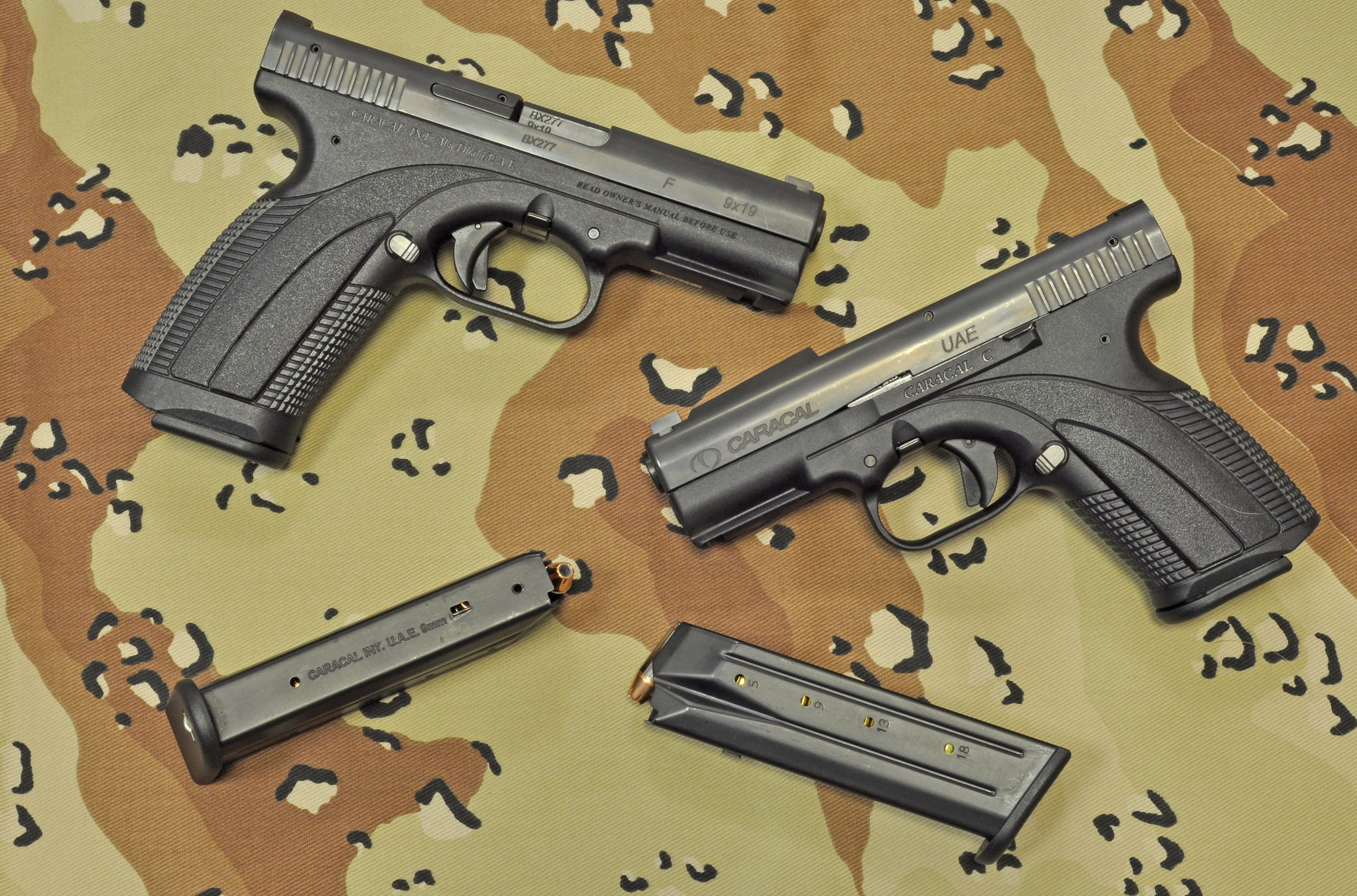 The Caracal Pistol
