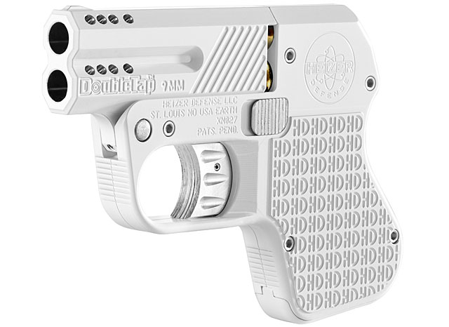 "Is This The First i-Pistol? ""Hedy Jane"" Pocket Pistol Finished in i-Phone White"