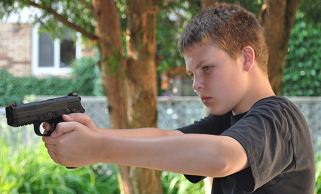 Whenever people start talking about kids and gun safety, the emphasis usually is on little kids,