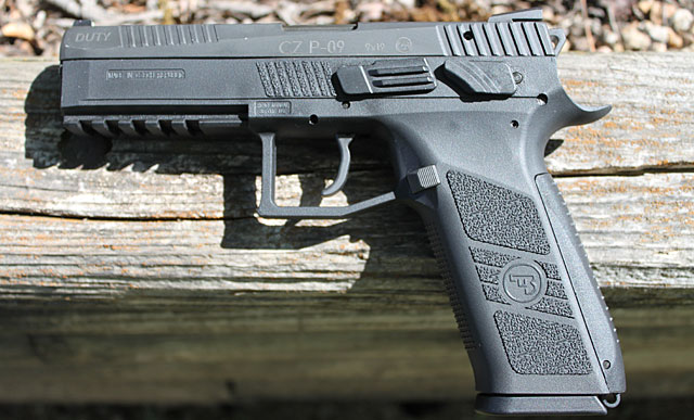 First Look at the CZ P-09 Duty