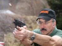 Patrick Sweeney shoots SIG P224