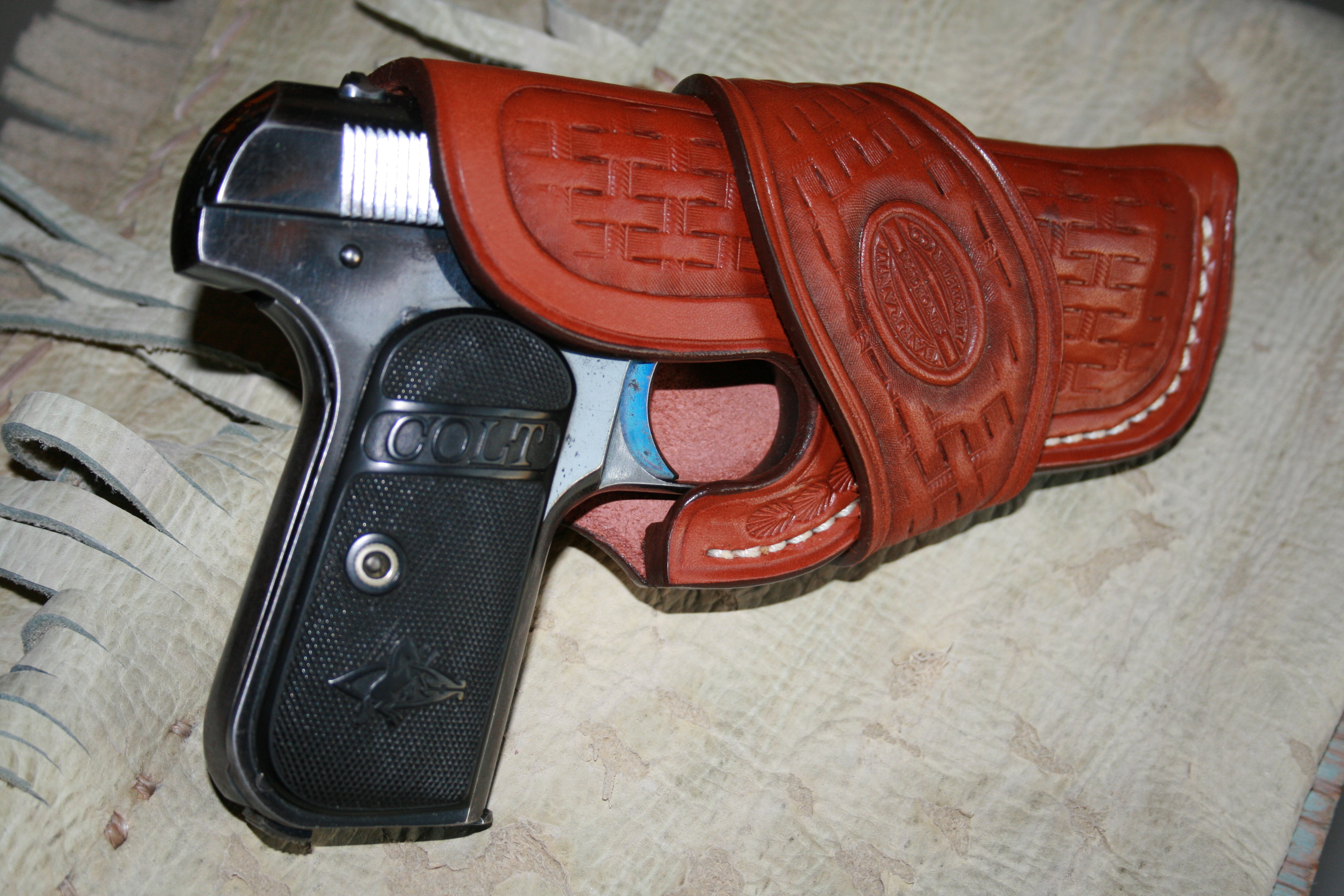 Great Old Pistol, Great New Leather