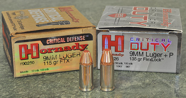 Hornady Critical Duty vs  Critical Defense