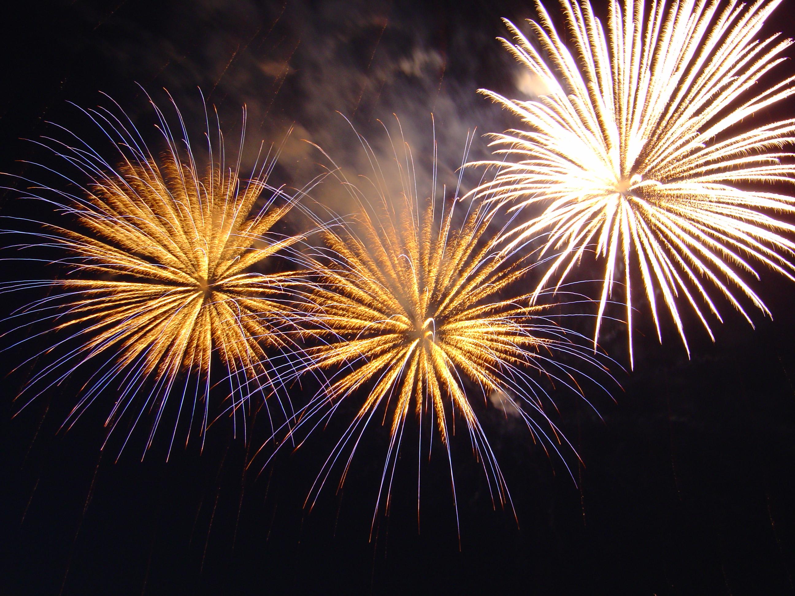 Fireworks vs. Firearms