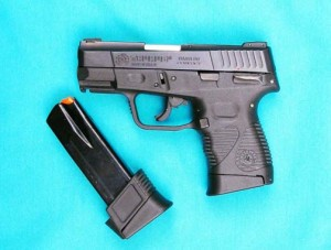 Taurus 24/7 G2 Compact with extended and standard magazines