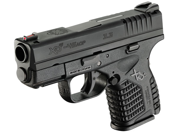 The newest entry into the booming market for mini .45s is the Springfield Armory XD-S, an XD