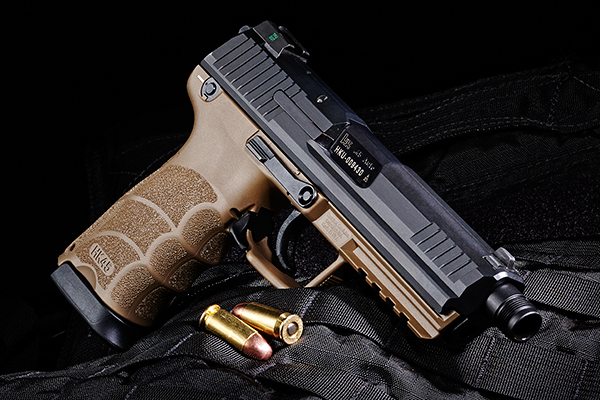 Big Iron: Heckler & Koch HK45 Tactical Review