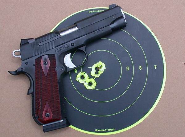 SIG Sauer entered the highly competitive 1911 market in 2004 with the 1911GSR