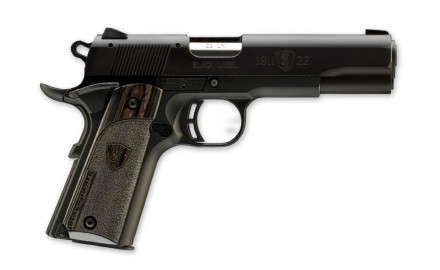 Browning recently announced the extension of their .22LR line of 1911 pistols. The new Browning