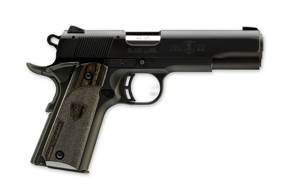 First Look: Browning 1911-22 A1 Black Label - Handguns