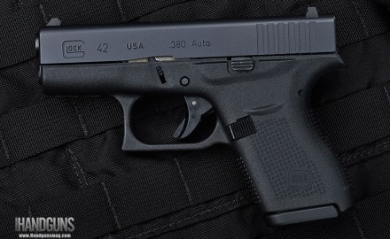 The slim design of the Glock 42 fits the hands of any shooter; specifically it gives those with smaller hands a comfortable option like they've never seen before.