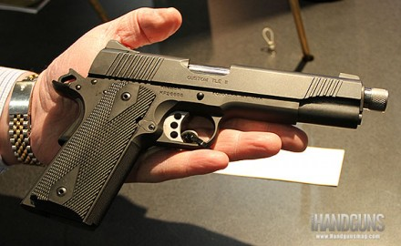 For the first time ever, Kimber is now offering a 1911 that comes threaded for suppressors.