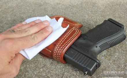 Many shooters like the look and feel of leather holsters for concealed carry.