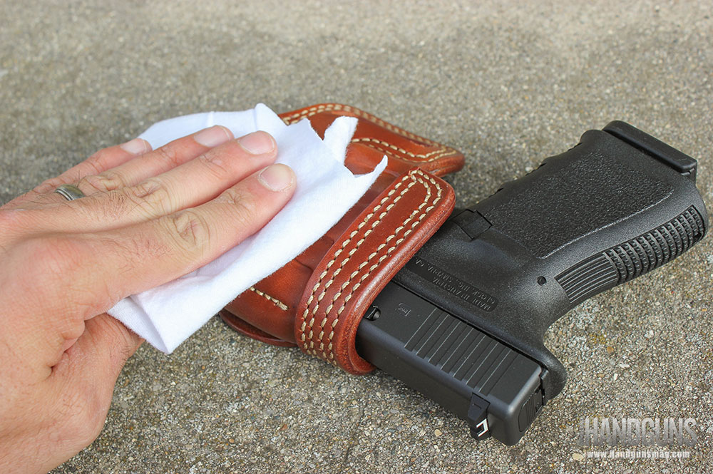 Leather-holster-care
