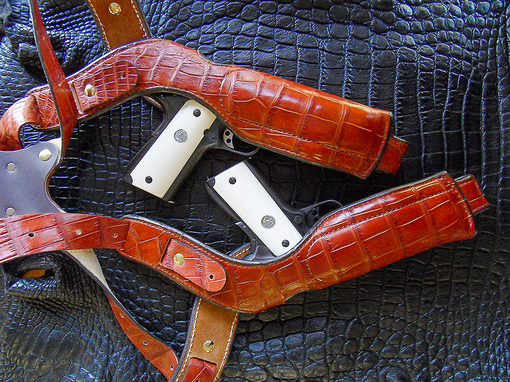 Hide With a Wild Side: Exotic Holsters