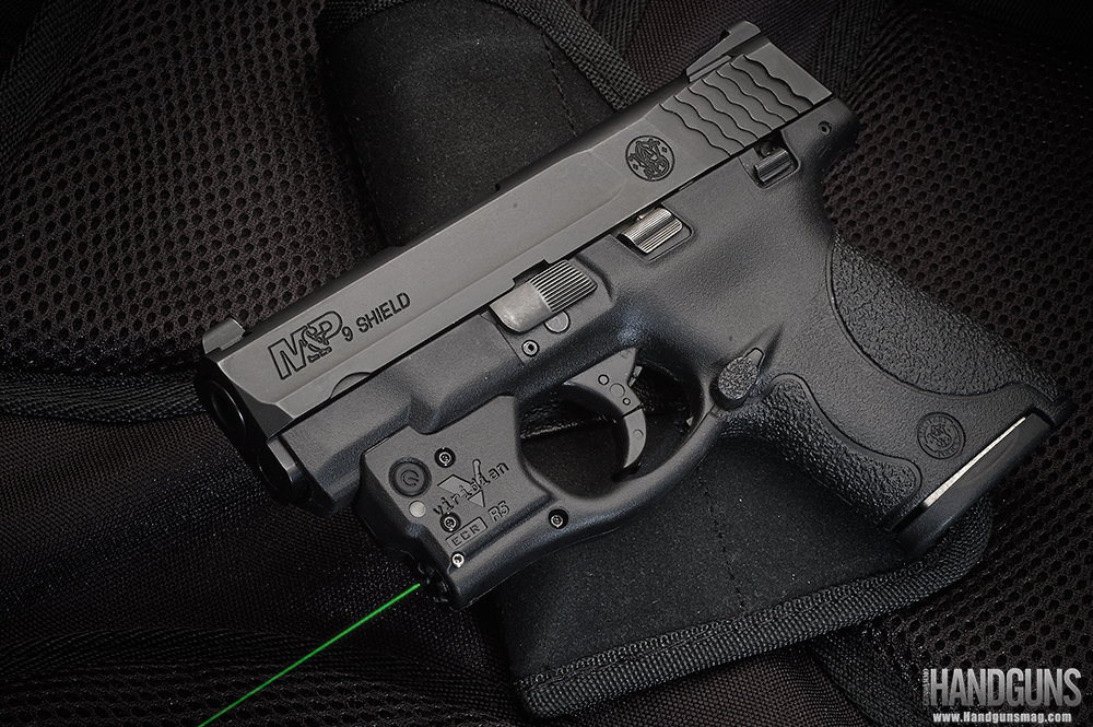 Viridian Reactor 5 Green Laser Sight Review - S&W Shield
