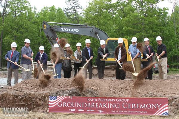 Kahr Arms Breaks Ground on New Pennsylvania HQ
