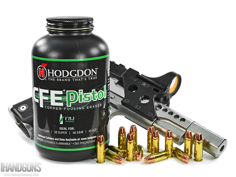 Making Major with Hodgdon CFE Pistol Powder