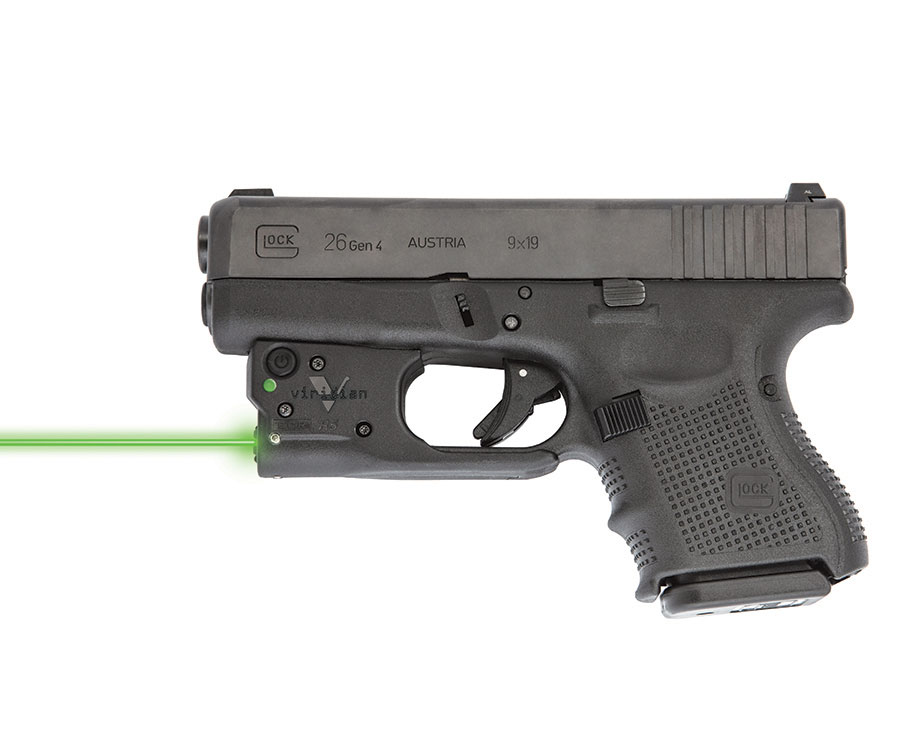 First Look: Viridian Reactor 5 Green Laser for Glock 26/27