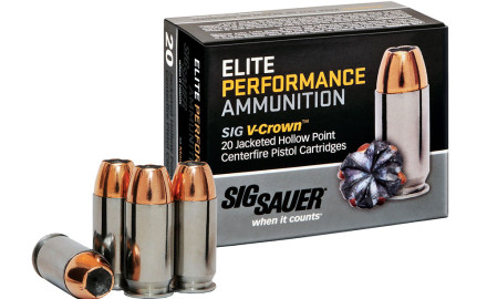 SIG Sauer is expanding its Elite Performance handgun ammo line for 2015, adding new offerings in