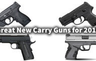 6 Great New Carry Guns for 2015