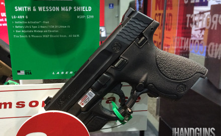 Smith & Wesson is upgrading its M&P Shield for 2015, supplying a new version with a