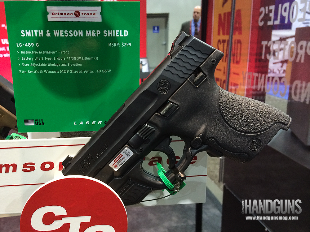 S&W M&P Shield Gets Crimson Trace Laser Upgrade