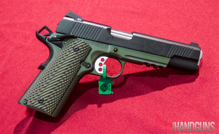 Springfield Armory has introduced a new tactical model of its 1911 Operator pistol during